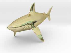 Shark in 18K Gold Plated