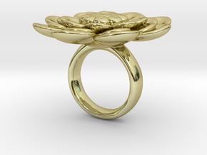 Sbosos 003 (6 cm inner ring) in 18K Gold Plated