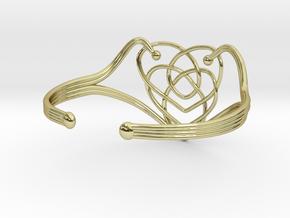 Celtic Motherhood Knot Braclet in 18K Gold Plated