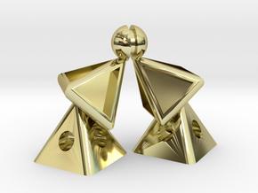Pyramid Kiss mini in 18K Gold Plated