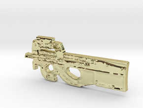FN P90 in 18K Gold Plated