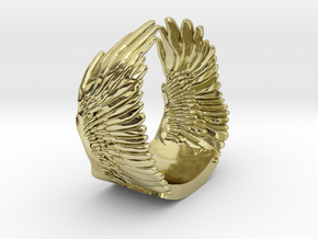 Wings Ring in 18K Gold Plated