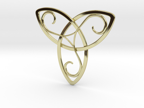 Celtic Pendant in 18K Gold Plated