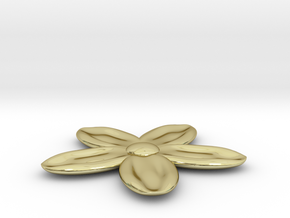 Flower for with a Magnet in 18K Gold Plated