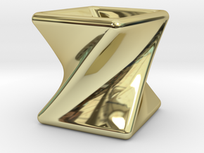 Twist Box I in 18K Gold Plated