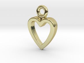 Heart Charm / Pendant / Trinket in 18K Gold Plated