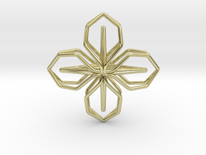 A-LINE Blossom, Pendant in 18K Gold Plated