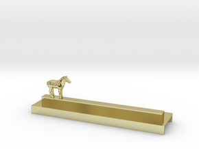 Porte Couteau Cheval Xian in 18K Gold Plated