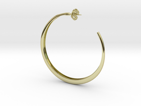 Hoop Earring in 18K Gold Plated