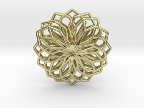A-LINE Lotus, Pendant in 18K Gold Plated
