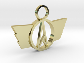 Neo-A Pendant in 18K Gold Plated