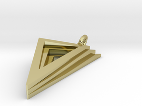 Layers Pendant in 18K Gold Plated