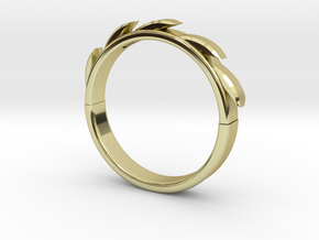 Sun flower Ring in 18K Gold Plated