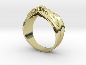 Sand Dune Ring in 18K Gold Plated