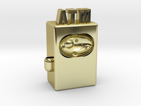 "ATM Future 4"" version in 18K Gold Plated"