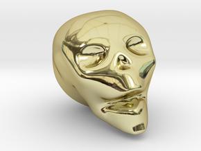 Skull Mini in 18K Gold Plated