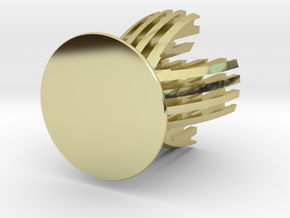 Sliced Egg Holder in 18K Gold Plated