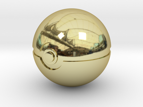 Park Ball Original Size (8cm in diameter) in 18K Gold Plated