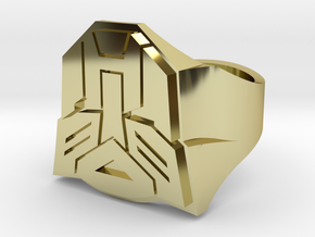 [Transformer] Autobot-ring Size #6 in 18K Gold Plated