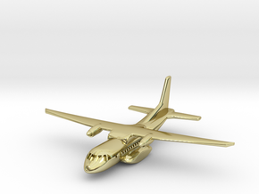 1:700 CASA/IPTN CN-235 military transport aircraft in 18K Gold Plated