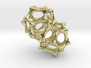VORONOI CLUSTER II  (Pendant) in 18K Gold Plated