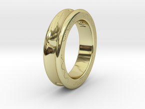 FootPrint Ring  in 18K Gold Plated