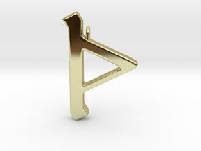 Rune Pendant - Þorn in 18K Gold Plated