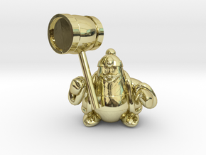 King dedede from the kirby series in 18K Gold Plated