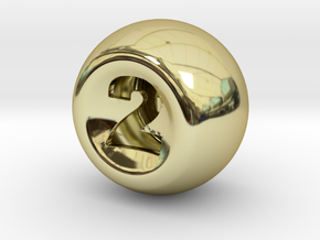 D2 in 18K Gold Plated
