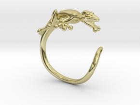 Gekko Wraparound Ring in 18K Gold Plated