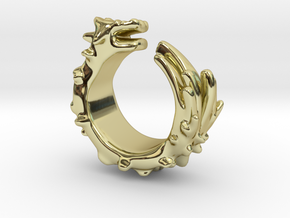Dragon Ring  in 18K Gold Plated