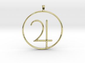 JUPITER Planet symbolism Jewelry Pendant in 18K Gold Plated