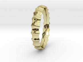 MODEUS Sea Designer Jewelry Ring in 18K Gold Plated