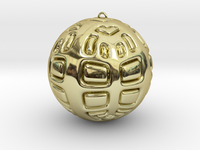 Christmas Tree Ornament #2 Smaller in 18K Gold Plated