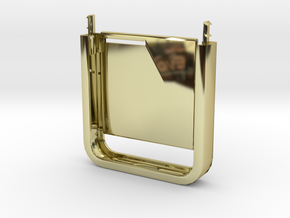 Two-Tone Multifunctional Iphone5 Case (Bottom Half in 18K Gold Plated