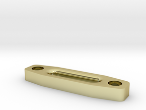 Hawse Fairlead Squared in 18K Gold Plated