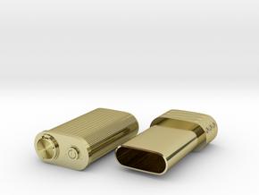 Spy lighter in 18K Gold Plated