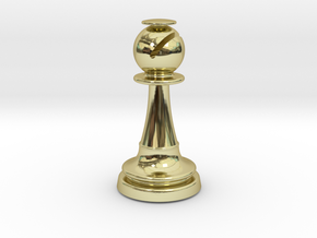 Inception Bishop Chess Piece (Lite) in 18K Gold Plated