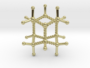 Iceane Pendant in 18K Gold Plated