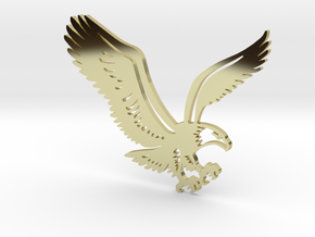 Eagle without hole in 18K Gold Plated