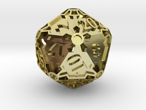 Premier d20 in 18K Gold Plated
