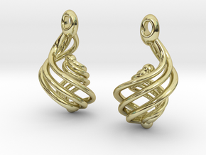 Passionate Fire Earrings in 18K Gold Plated