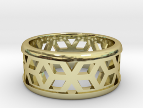 Muster Ring in 18K Gold Plated