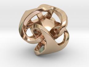 Ora Earring in 14k Rose Gold Plated Brass