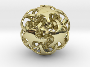 Quintrino Pendant in 18K Gold Plated