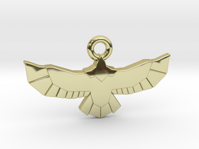 Poly Eagle in 18k Gold