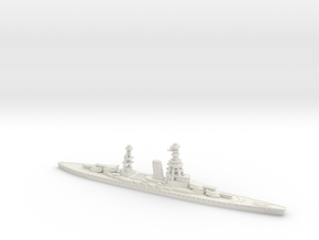 IJN Mikasa (Number 13BB) 1/1800 in White Natural Versatile Plastic