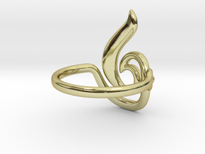 Seed Ring in 18K Gold Plated