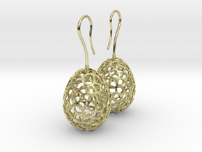 Fertilized Bio-inspired Zerggrings in 18K Gold Plated