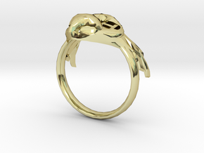 BirdRingBend 19mm in 18K Gold Plated